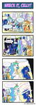 Pony 4 Koma - Wreck it, Celly! by Reikomuffin