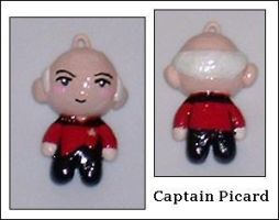 Picard Charm by Ayotunde