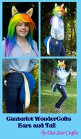 Equestria Girls Wondercolts Ears and tail by bluepaws21