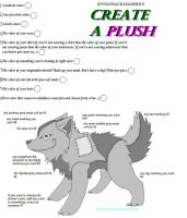 Meme create a wolf plush by xWolfPackLeaderx