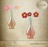 Vase with flowers - CUOK by shelldevil