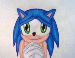 Sonic's Cute Eyes by GothNebula