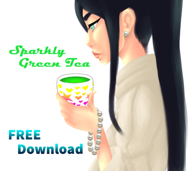 Sparkly Green Tea Model Download FREE by DraconianRain
