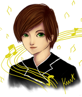 Glee_Kurt Hummel by trayuy