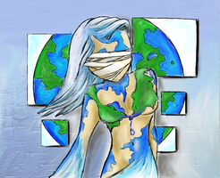 Mother Earth by InfinityCrash