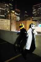 Shingen and Celty Cosplays by deadladybugs2