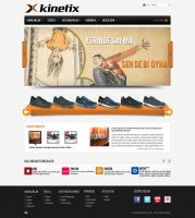 KINETIX web site by omrguven