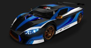 Quimera paint scheme for all Electric Drift Car by Rotr8