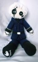 Hetalia Prussia Fleece Plush Ragdoll by SAKI-LYN
