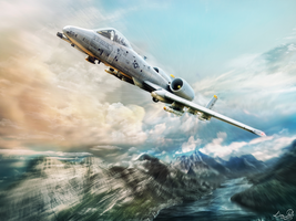 A-10 Warthog by LPBS2012