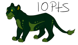 Female Lion Adoptable - ADOPTED by IntelligentWolf