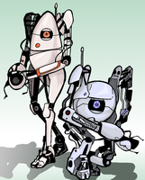 ATLAS and P-body by Greendayrox489