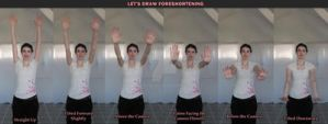 Let's Draw Foreshortening by RobynRose