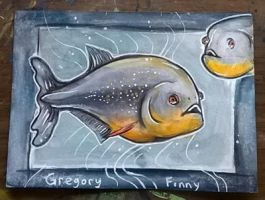 Piranhas ATC by LimehouseBlues