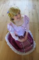 Tangled Rapunzel cosplay 5 by KatintheAttic