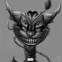 American McGee's Cheshire cat by kinwii