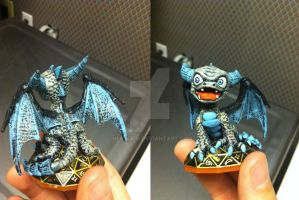 Skylanders: Custom New Demon Spyro by neilsugg