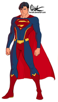 New 52 Supes - My Version by Harseik