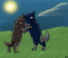 Contest Entry-Division 1-Fitch and Raven's Pups by shademist030