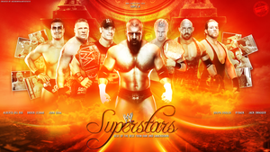 Wwe Superstars 2013 by T1beeties