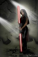 Me and Star wars by Tiamat-Creations