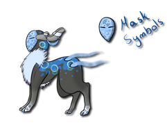.:Masked Spirit adopt:. (CLOSED) by Eri-Freak