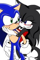 Contest Prize: Sonic and Vanessa by Blue-Lightning50