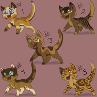 kitten adopts 1... ALL GONE by SassyHeart
