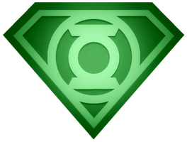 Green Lantern Superman Shield by KalEl7