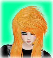 IMVU hair freebie by BananaSplitzel
