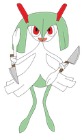 I'm A Gallade by MetalShadowOverlord