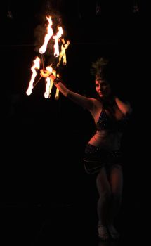 Fire Dancer by aliceinflames