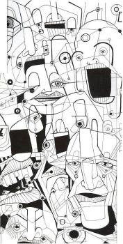 Multiple personality disorder by bygone
