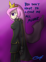 Now I'm all alone.... by TheYoungReaper