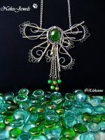 Green Jellyfish by Elehanne