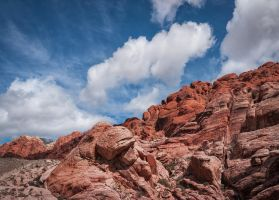 Red Rocks and Clouds by shawnstorm