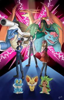 Welcome to Kalos by Erin-Tudball
