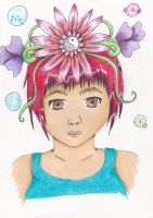 flower crown by ninjalove134