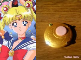 Usagi brooch by Silver-Serenity