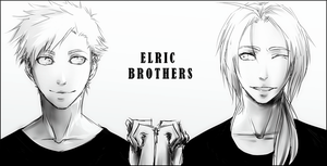 Elric Brothers by IAcediaI