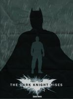 The Dark Knight Rises Retro Poster by LTRees