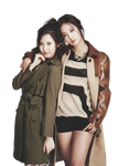 {PNG/Render #60} Seohyun and Yuri (SNSD) by larry1042001