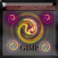 GIMP lighting tubes by feniksas4