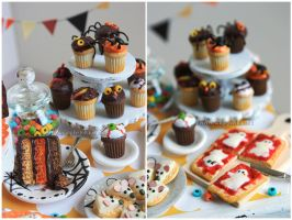 Halloween Treats by thinkpastel