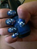 Nailartbluepearl by CarpeComma