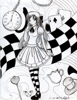 Alice in Wonderland by Eilyn-Chan
