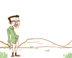 A Simple Breaking Bad Drawing by StevenRayBrown