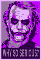 The Joker ShepardFairey Purple by WCFOmen