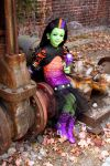 Monster High, Casta Fierce cosplay by cimmerianwillow