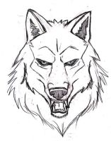 Wolf design WIP by Navina
